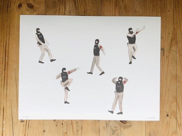 Image of ESCIF / print. KILL ME BY YOUR DANCE