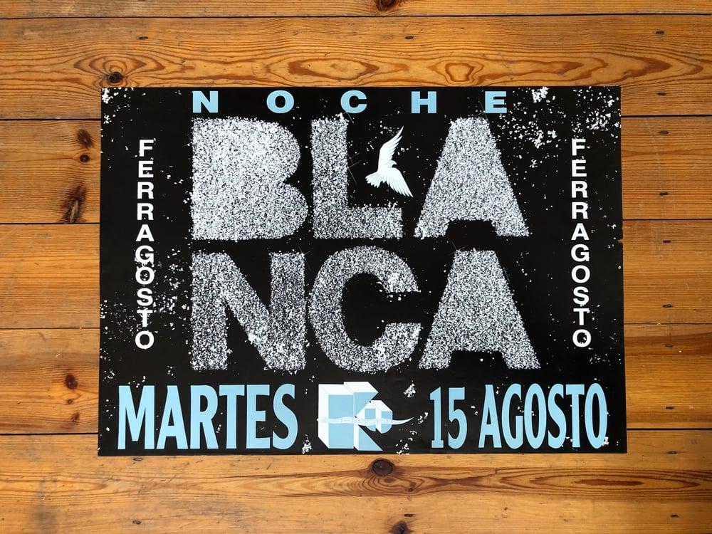 Image of Ku Poster – Noche Blanca 1989