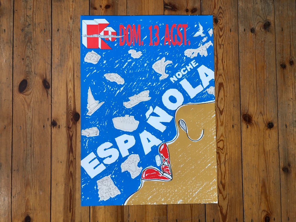 Image of Ku Poster – Noche Espanola - 1989