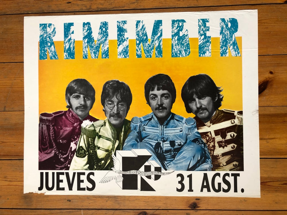 Image of Ku Poster – Remember 1989