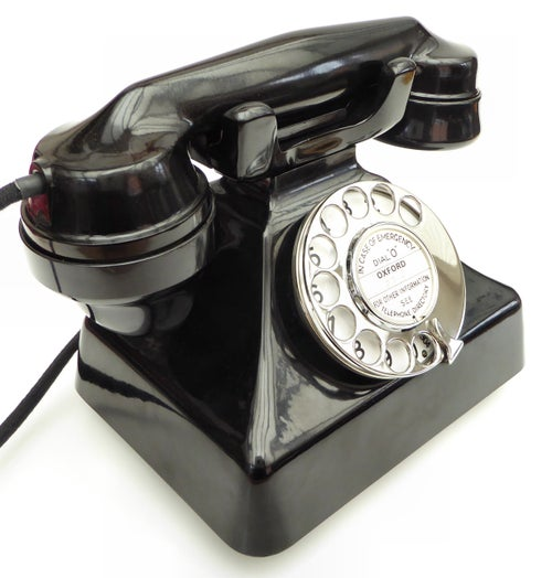 Image of Gecophone (GEC) Bakelite Telephone