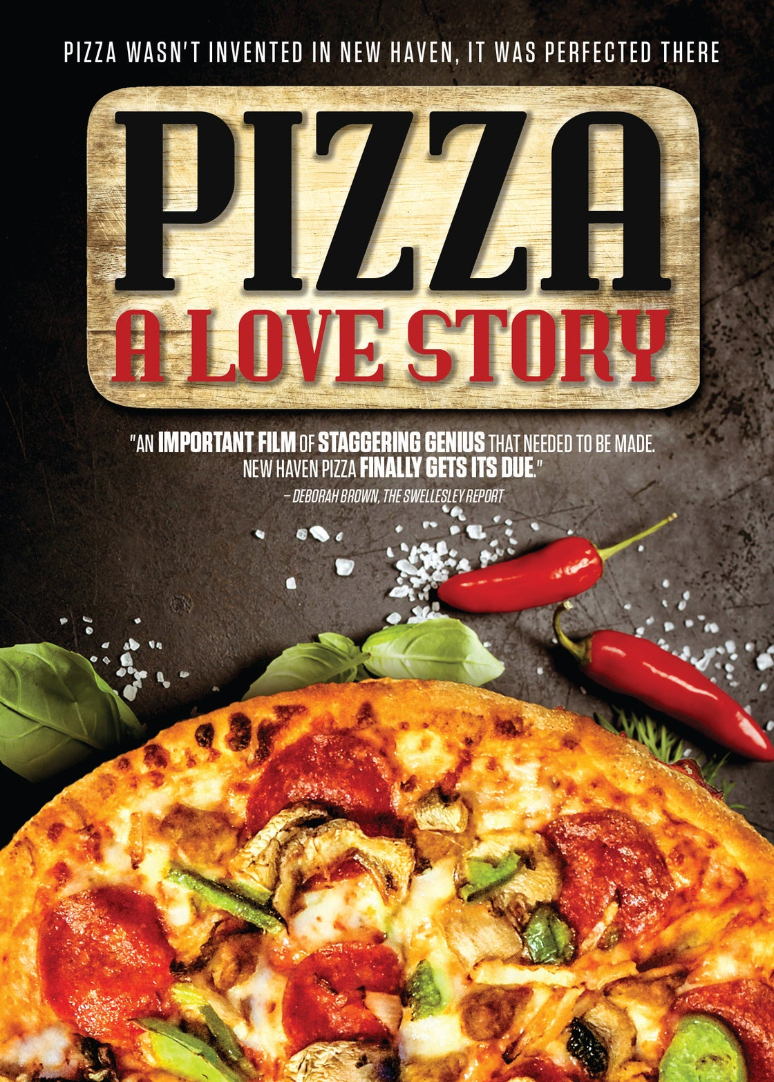 Image of Pizza A Love Story deluxe DVD & BluRay