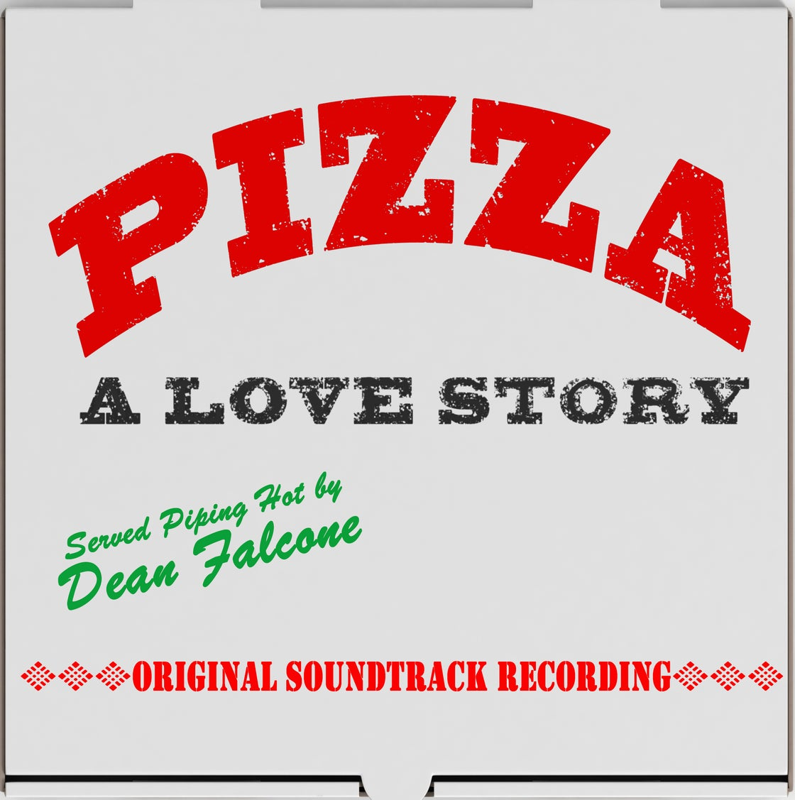 Image of Pizza A Love Story original soundtrack CD
