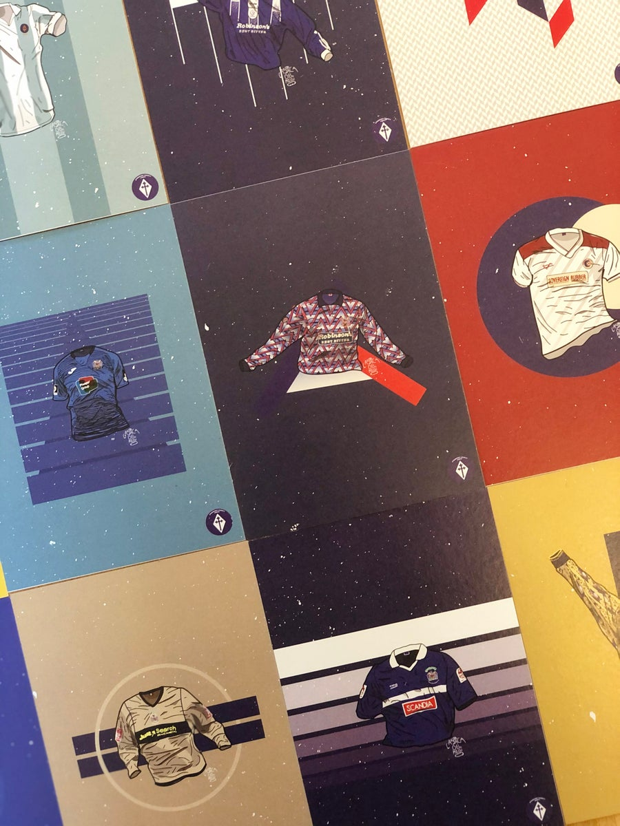 Image of Limited Edition Classic Shirts Postcard Set