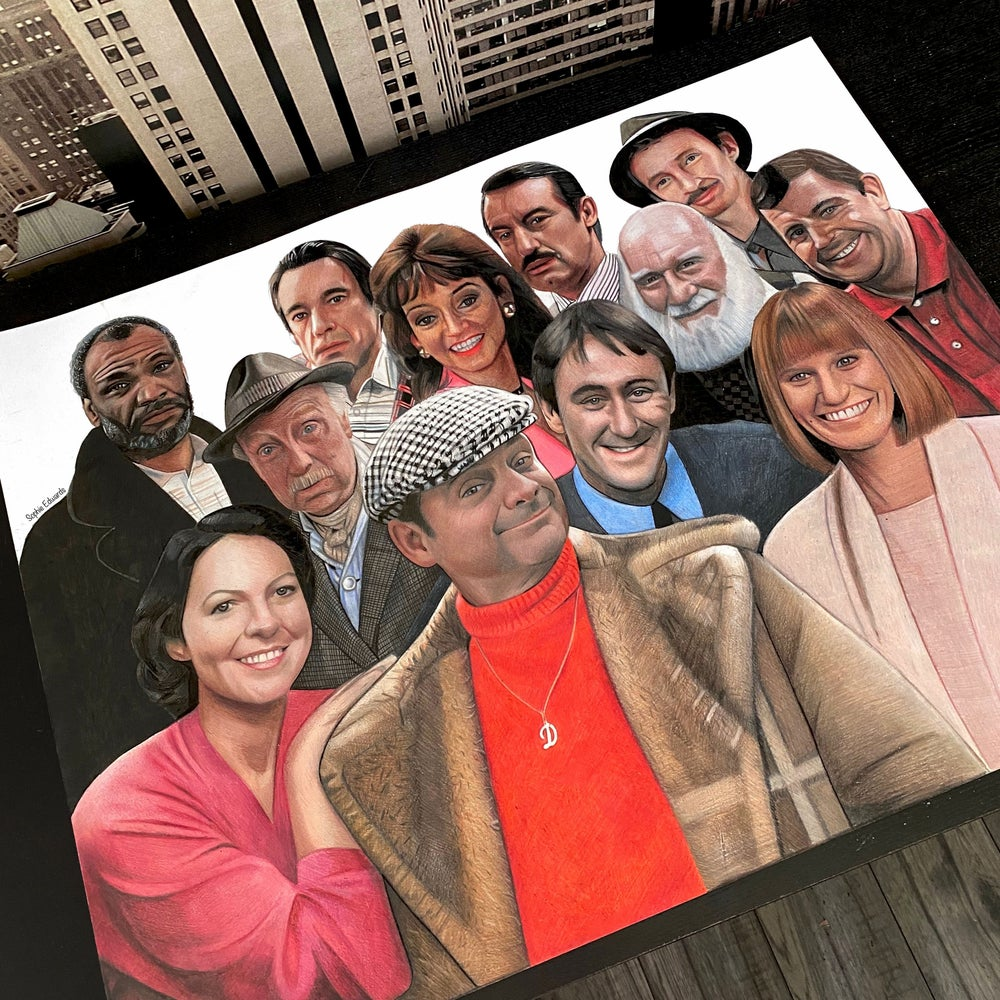Image of Only Fools and Horses (Full cast) Print