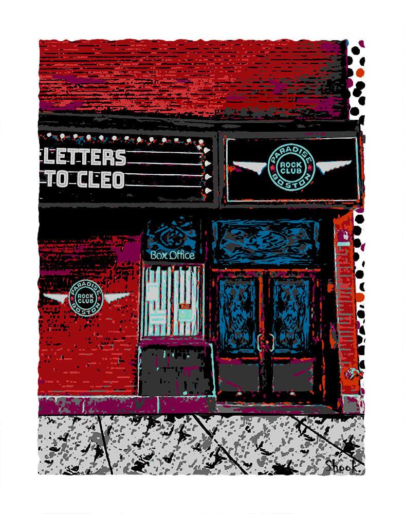 """Paradise Rock Club - Boston Giclée Art Print - 11"""" x 14"""""""