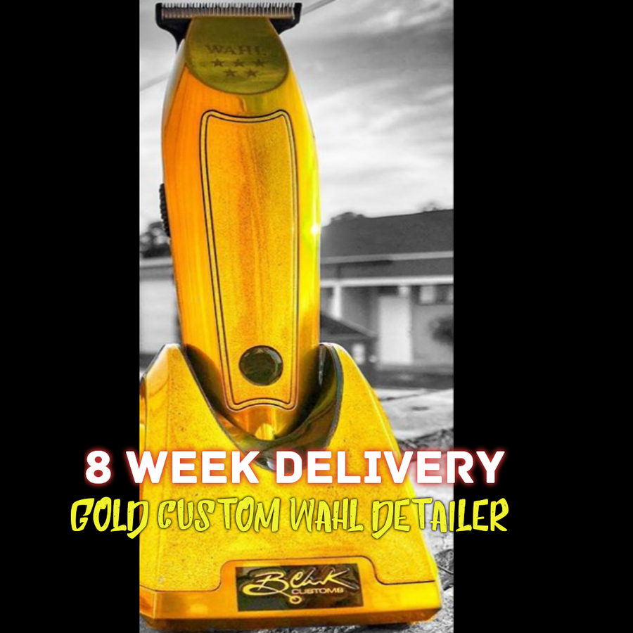 "Image of B. Clark Edition-Gold Cordless Wahl Detailer W/""Gold"" Modified Wahl T-Wide Blade"