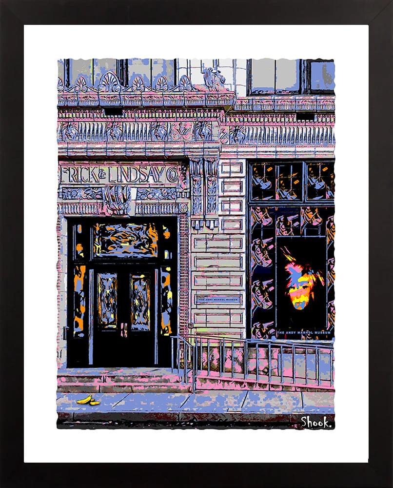 "Image of Andy Warhol Museum Pittsburgh Giclée Art Print - 11"" x 14"""