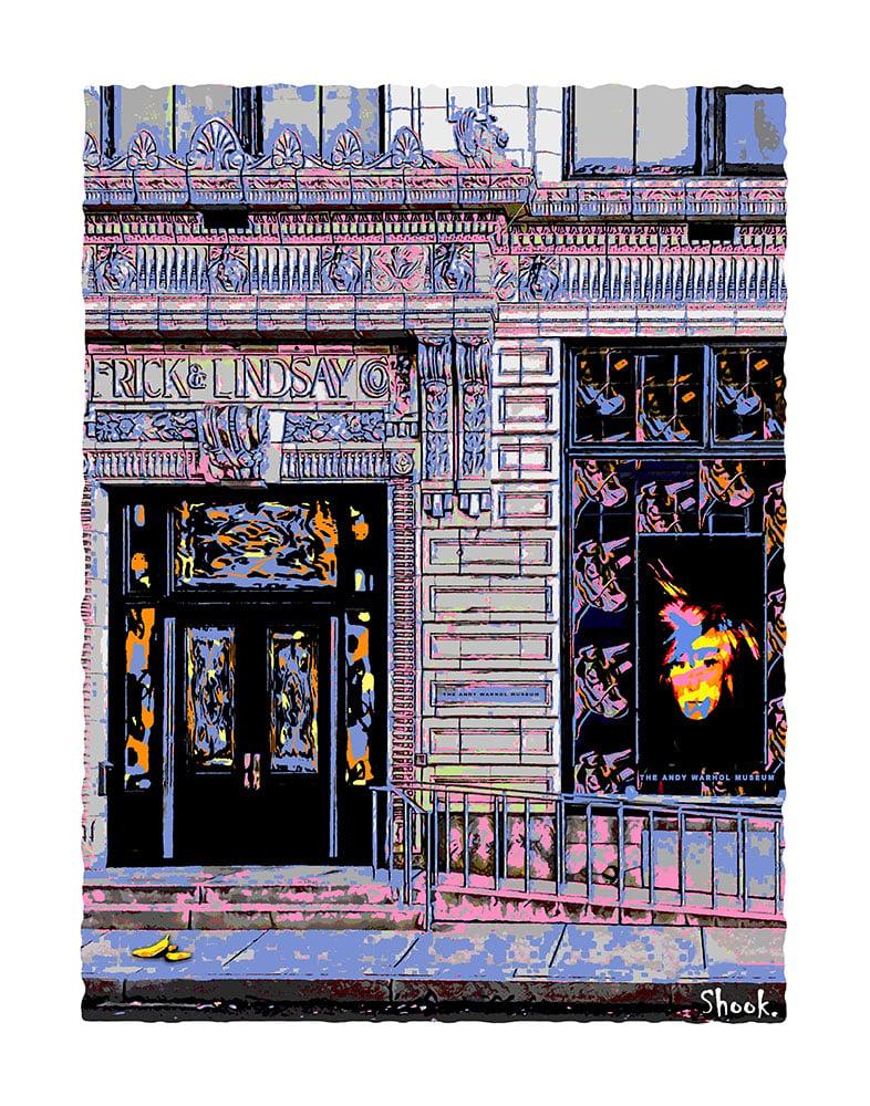 "Andy Warhol Museum Pittsburgh Giclée Art Print - 11"" x 14"""