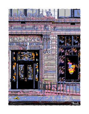 "Image of Andy Warhol Museum Pittsburgh Giclée Art Print - 11"" x 14"""