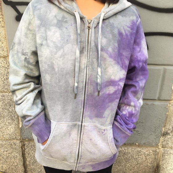 Image of UPCYCLING ZIP HOODIE