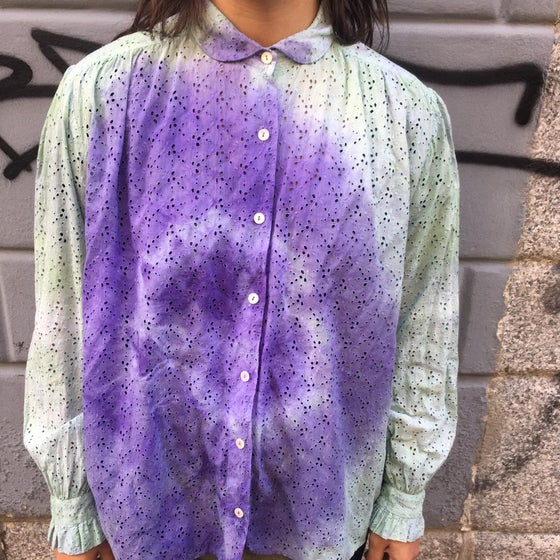 Image of UPCYCLING TIE DYE SHIRT
