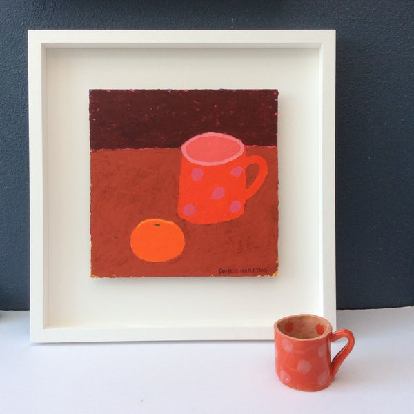 Image of Handmade Cup and Satsuma