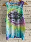 Rainbow Tie Dye Retro Tank