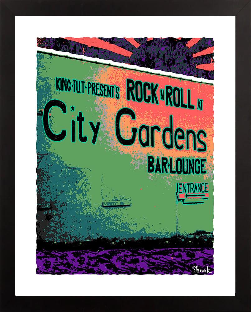 "Image of City Gardens Trenton Giclée Art Print - 11"" x 14"""