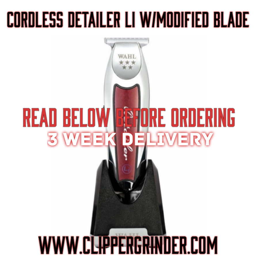 Image of (3 Week Delivery/High Order Volume) Cordless Wahl Detailer W/Modified Wahl 5 🌟 T-Wide Blade