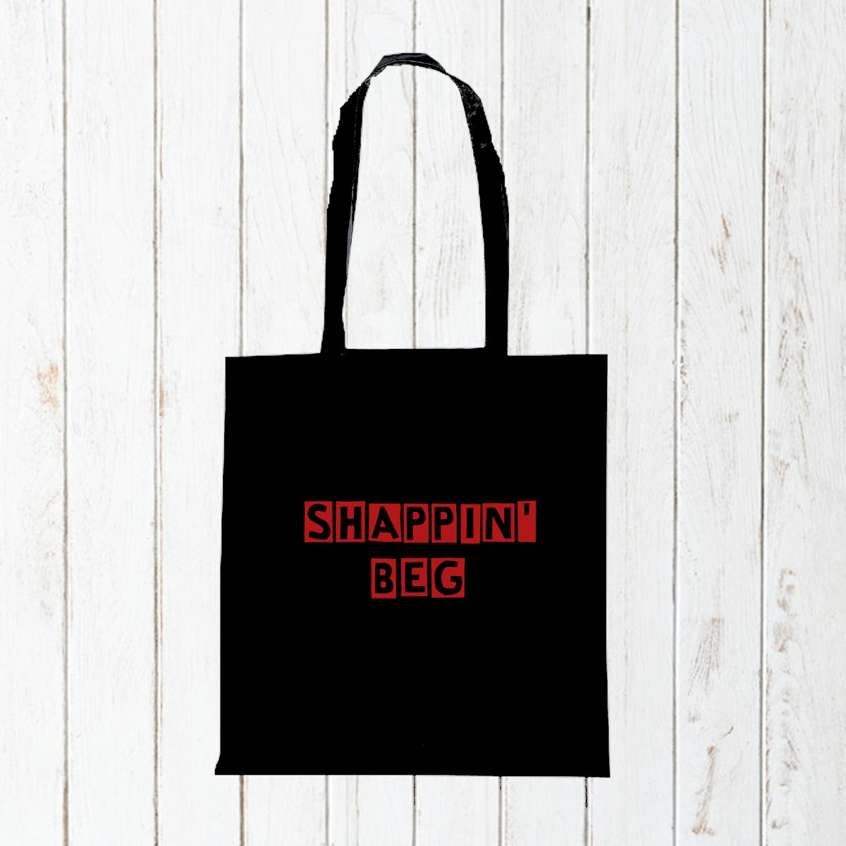 Shappin' Beg - Cotton Tote Bag