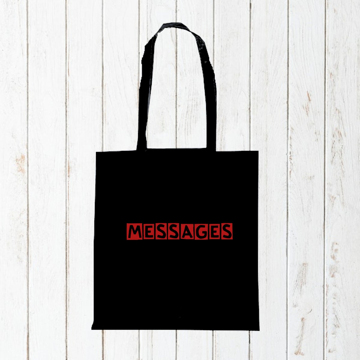 Messages - Cotton Tote Bag