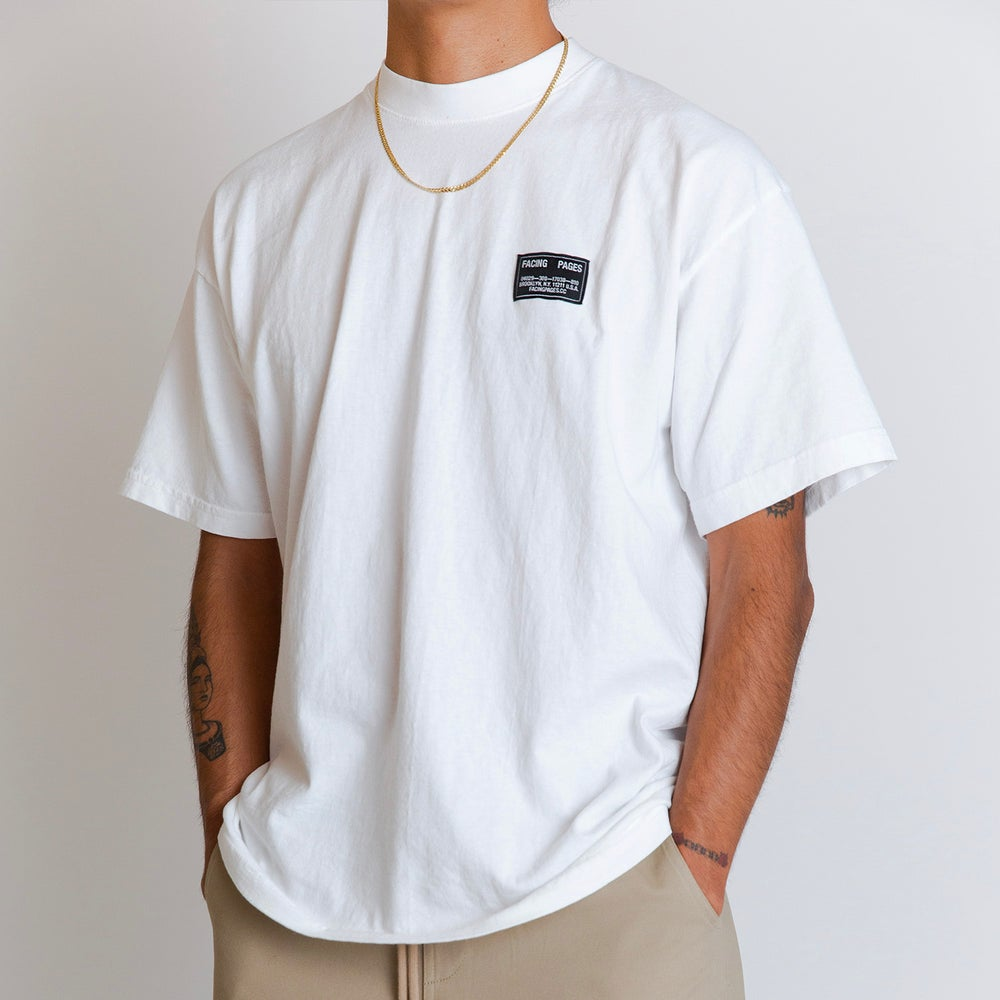 Image of UNIFORM T-SHIRT, WHITE