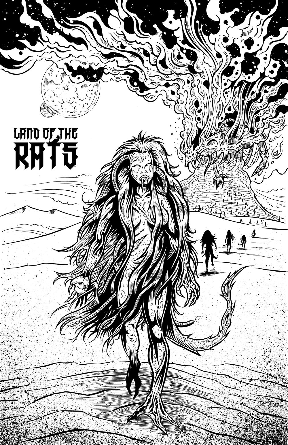 "Land of the Rats ""Zombies"" poster"