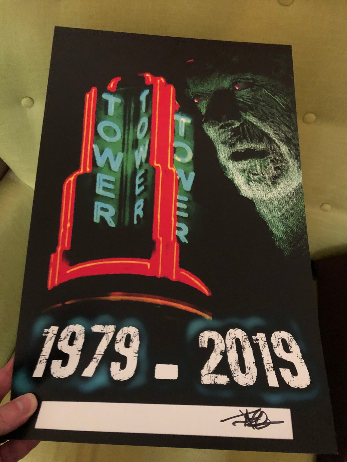 Image of Dawn of the Dead 40th anniversary screening poster