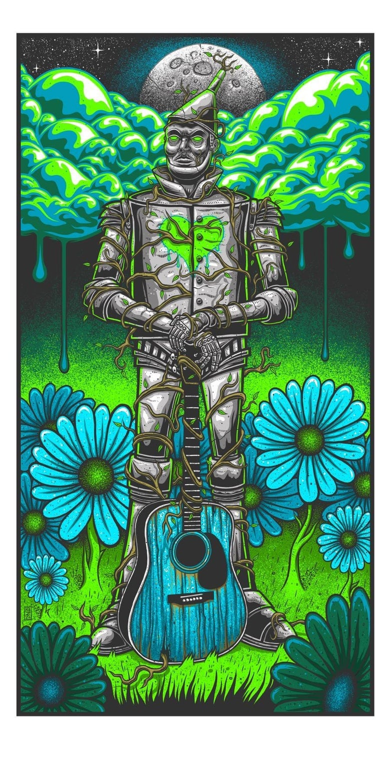 Image of Tin Man Art Print - Times Edition. On sale will end on Sunday, Sept. 13th 2020