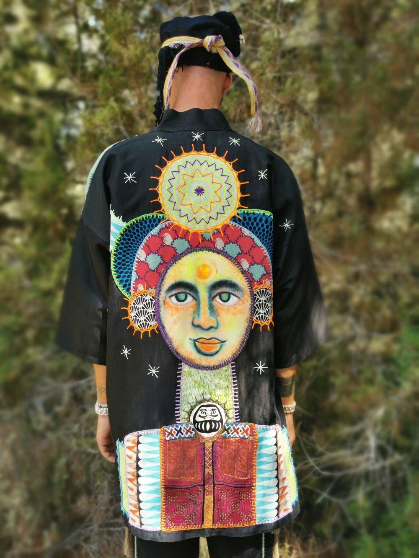 Image of Cosmic Toltec Kimono
