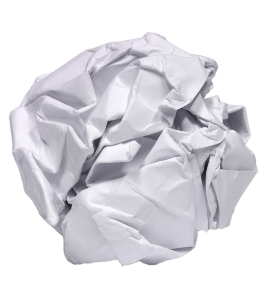 Image of Crumpled Ball Paper