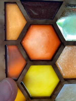 Image of Resin Honeycomb Corner Set