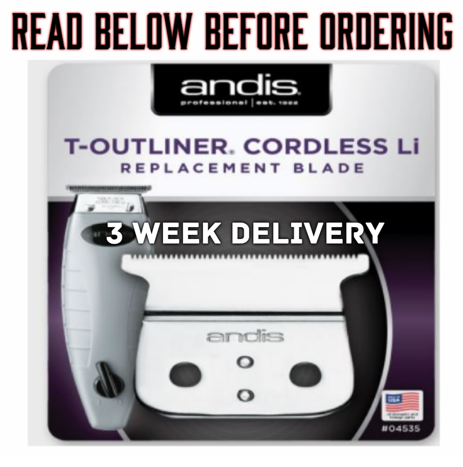 "Image of (3 Week Delivery/High Order Volume) ""Modified"" Cordless Andis T-OUTLINER Trimmer Blade"