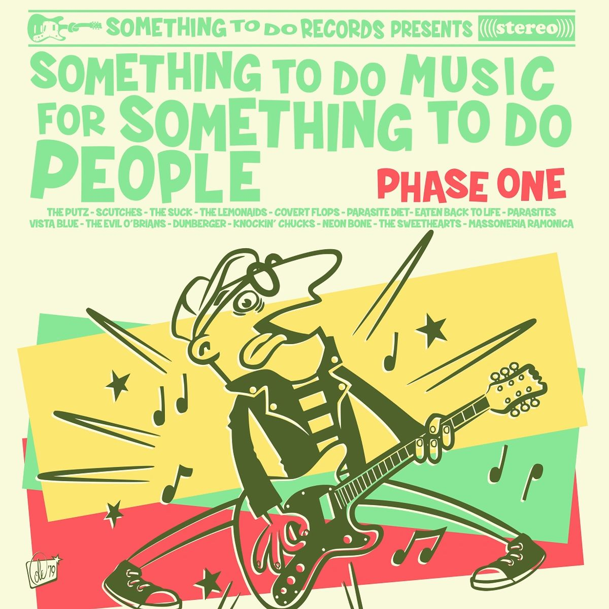 Image of Something To Do Music For Something To Do People LP