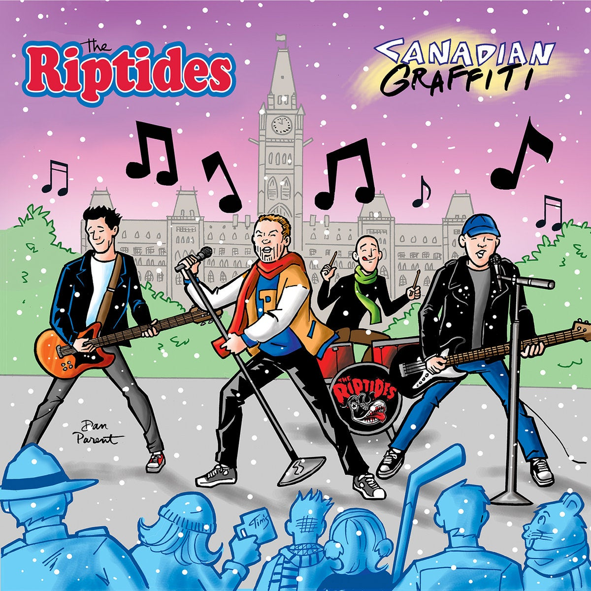 Image of Riptides - Canadian Graffiti LP