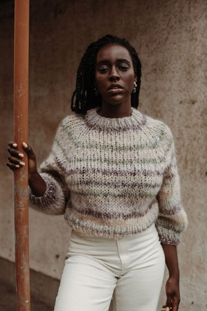 Image of Kelowna Mohair Merino Sweater (One of a Kind- beige shown) more colours