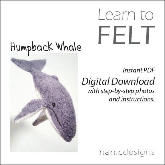PDF Humpback Whale Felting Instructions