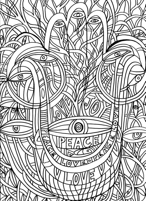 Image of The Drawing Mind Coloring Book