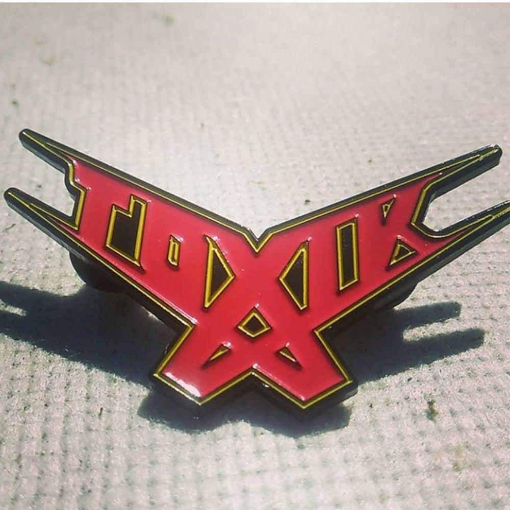 Toxik Logo Lapel Pin