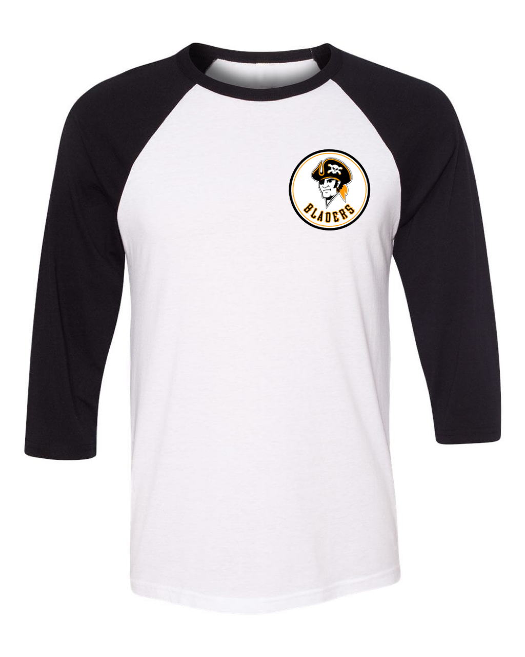 Image of Pirate Bladers Baseball Tee - PRE-ORDER