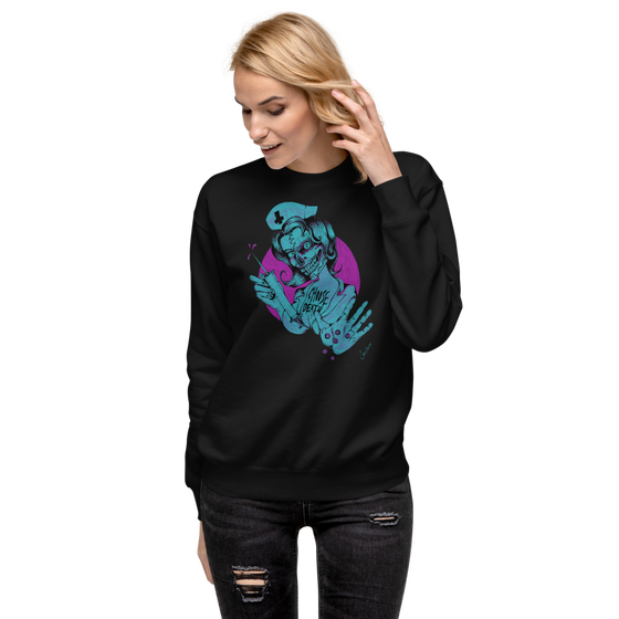 Image of CHOOSE DEATH UNISEX SWEATSHIRT