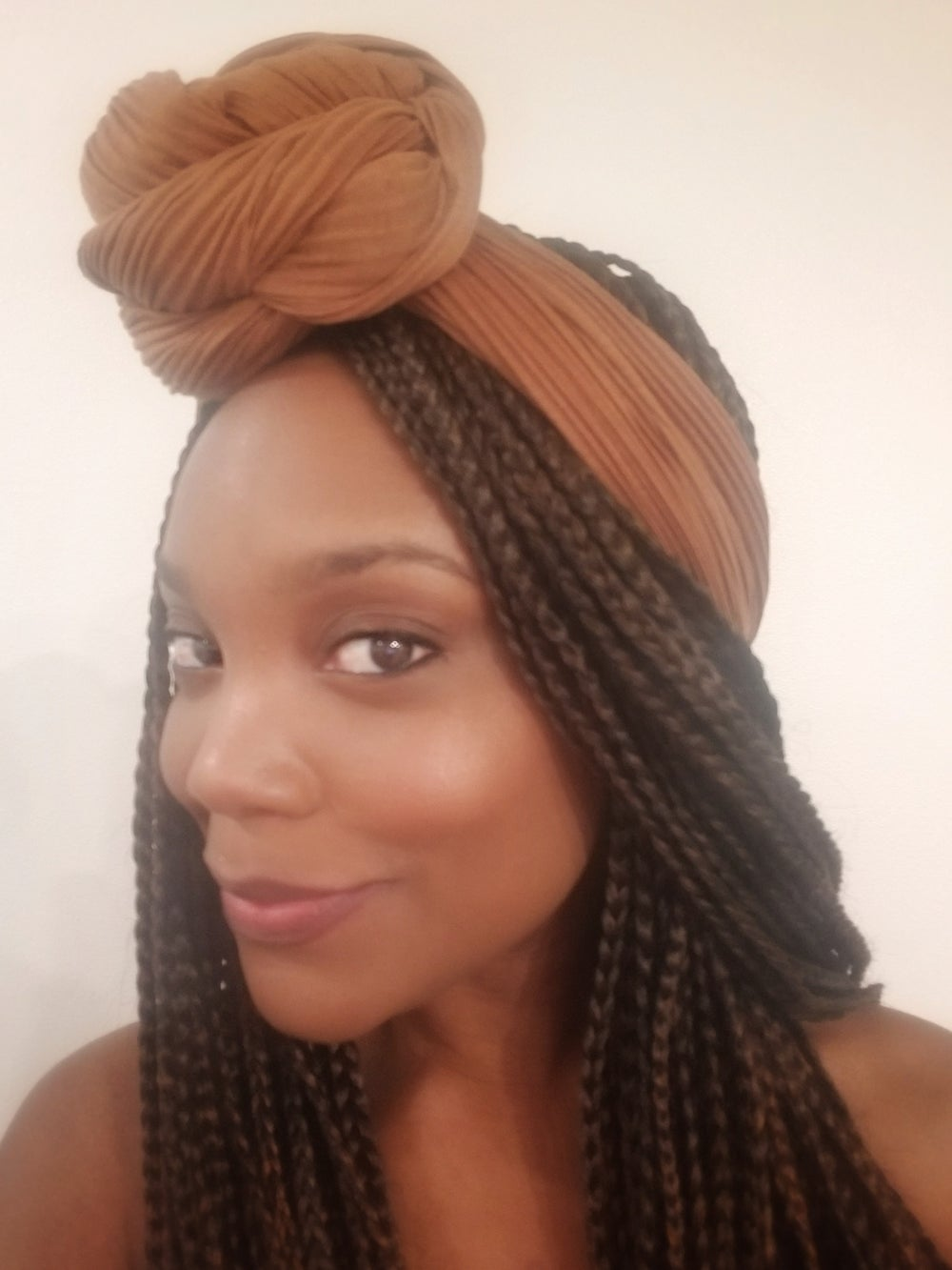 Image of COFFEE RIBBED - HEADWRAP