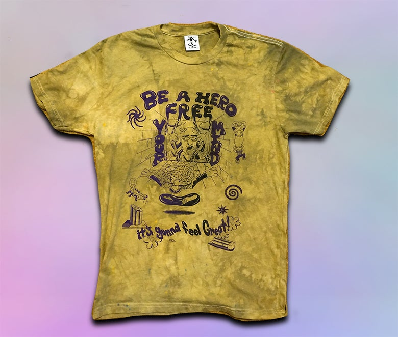 Image of FREE YOUR MIND/END THE WAR ON DRUGS shirt