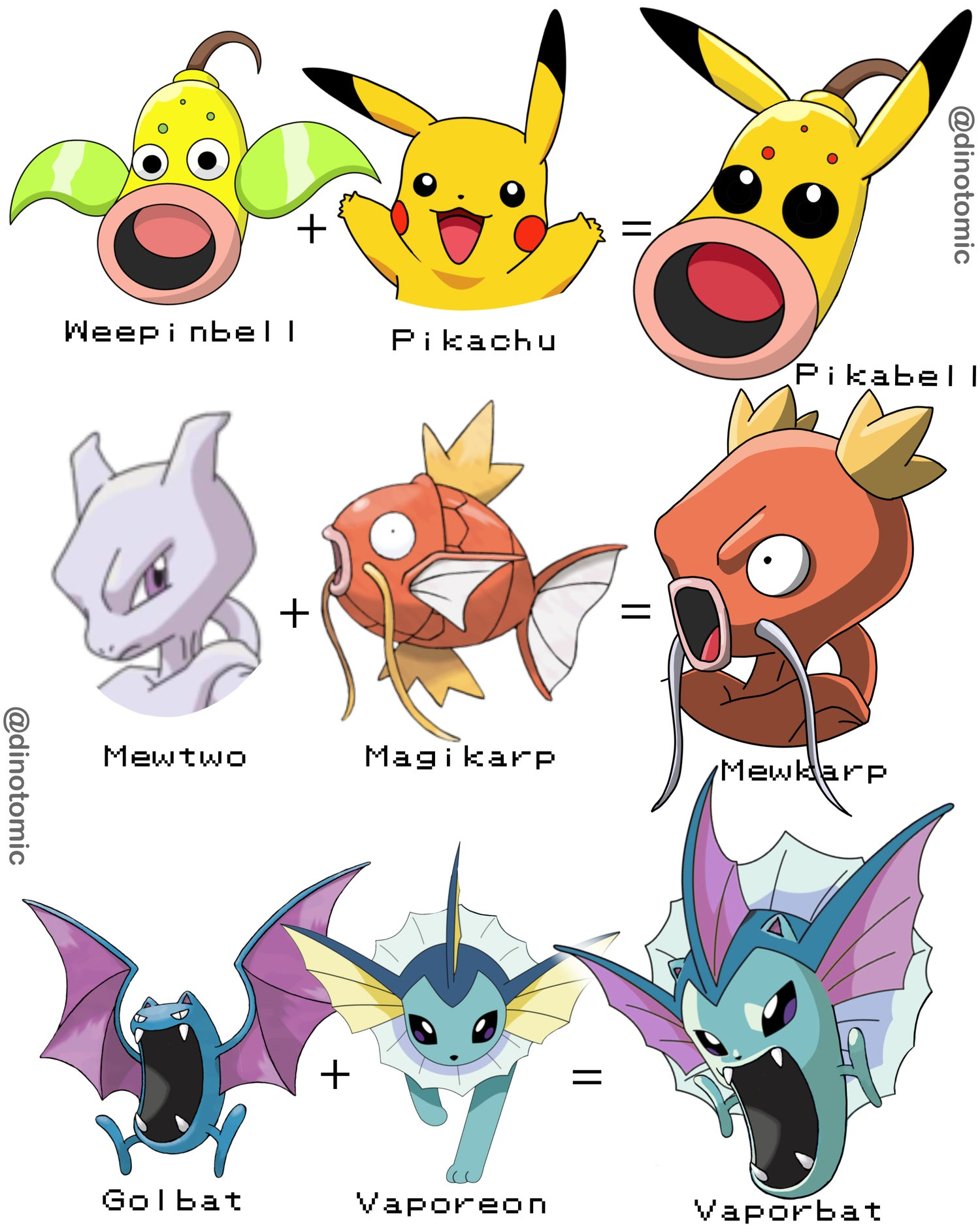 Image of #269 Pokemon Fusion page 2