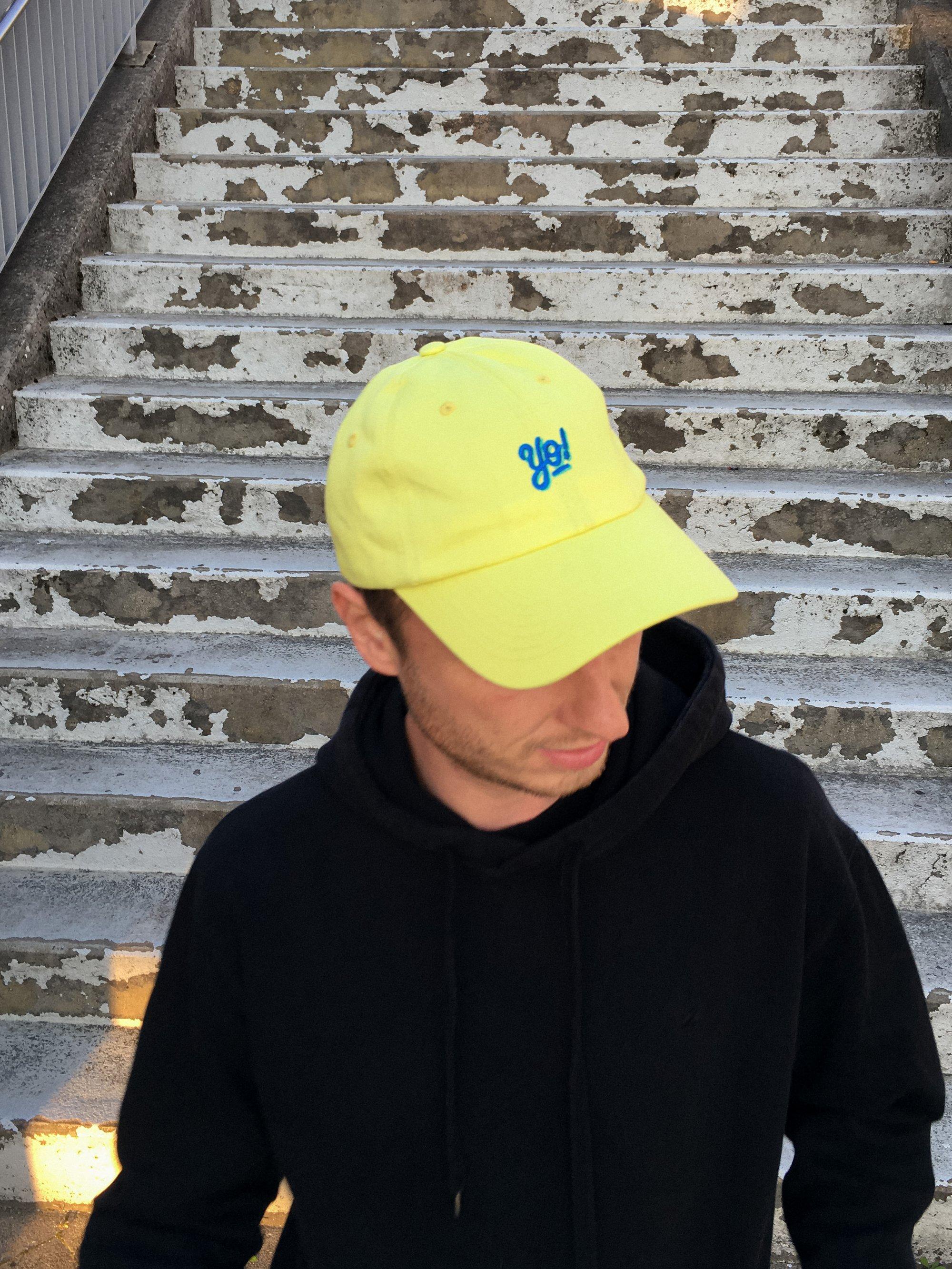 Image of dolphin cap. y