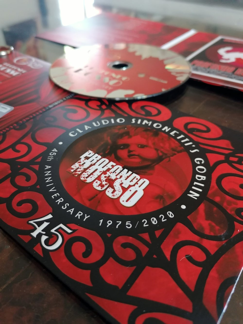 Profondo Rosso 45° Anniversary Limited CD + Exclusive Goblin Keychain