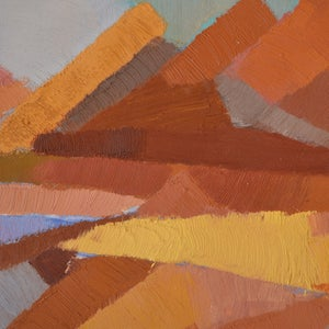Image of French Abstract Landscape Maurice Colasson (1911-1992)