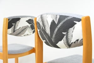 Image of Chaise grise Feuilles