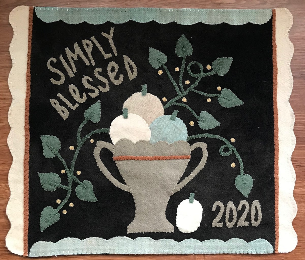 Simply Blessed Wool Mat Kit Pre Order