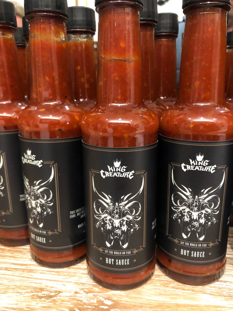 Image of Set The World On Fire Hot Sauce!!
