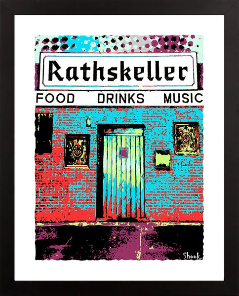 "Image of The Rathskeller Boston Giclée Art Print, V2 - 11"" x 14"""