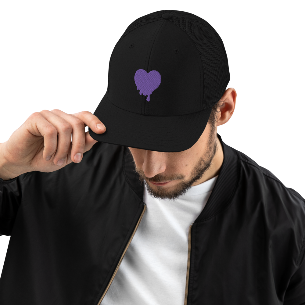 Image of Purple Heart Snapback Hat