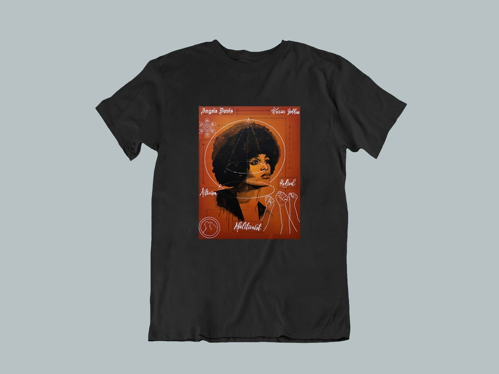 "Image of ""Angela Davis Blueprint"" T-Shirts & Hoodies"